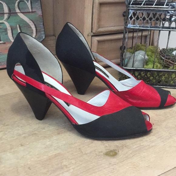 7c420ed3c1b1 MAUD FRIZON Shoes | Peep Toe Heel Sandals Italy | Poshmark